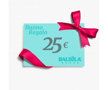 Buono regalo - €25