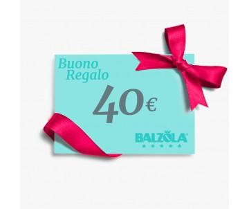 Buono regalo - €40